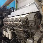 راه اندازی دیزل ژنراتور ۲ مگاوات میتسوبیشی - شرکت فولاد روهینا و دنیلی ایتالیا در شهر دزفول